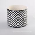 Customized Design Popular Ceramic Candle Container