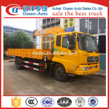 Dongfeng kingrun guindaste hidráulico do caminhão do crescimento para a venda