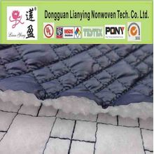 Non-tissé Technic Polyester Batting Quilted Fabric