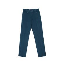 Леди вельветовые узкие брюки
