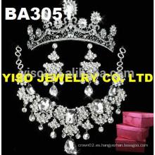Joyería de lujo de la joyería del collar de la boda