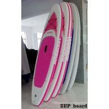 Tablero de Sup de Women′s rosa de alta calidad para el surf