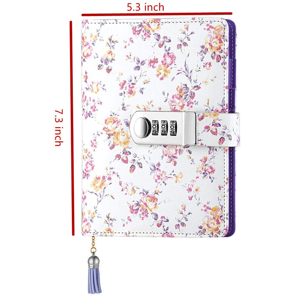 Pu Leather Multi Color Secret Diary 1