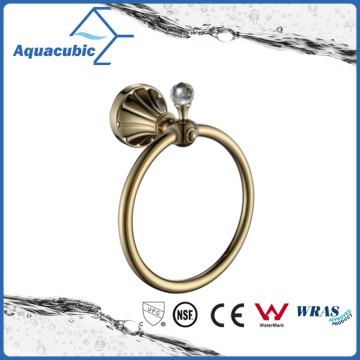 Wall Mount Towel Ring in Gold (AA9113)