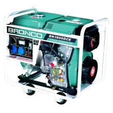 Дизельные генераторы (BN5800DCE) 5кВт открыть Фрам воздушным охлаждением 186ф