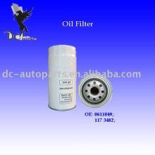 Filtro de óleo do caminhão Daf 0611049