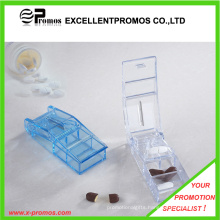 Plastic Pill Case with Cutter for Promotion (EP-P412909)