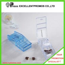 Estojo plástico com cortador para promoção (EP-P412909)