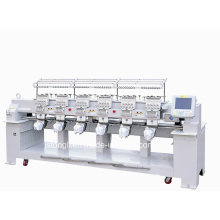 Embroidery Machine with 12 Needles 6 Heads Suitable for Cap/T-Shirt (TLC-1206)