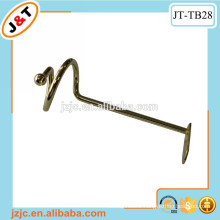 modern decorative metal curtain rod tieback hook