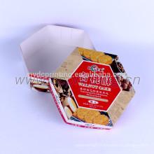 Emballage de boîte de papier de biscuits de luxe personnalisé