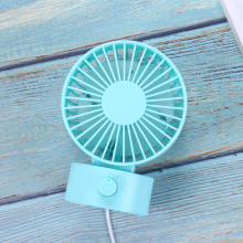 Mini USB Desk Fan Dual Blade oplaadbare ventilator
