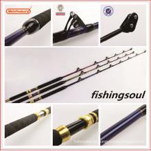 La barra de pesca del grafito de GMR001 blanquea la barra del pol de la pesca del curricán del juego