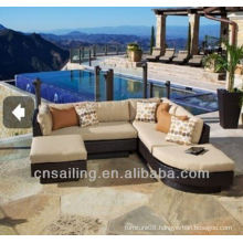Hot sale Outdoor All Weather compact rattan outdoor set
