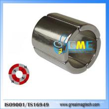 N52 Or25.4xir19.05xh25.4mmx90 NdFeB Generator Arc Segment Magnet