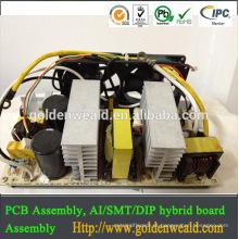 PCBA eletrônico da fabricação do pcba feito sob encomenda, fonte de alimentação do interruptor 60A