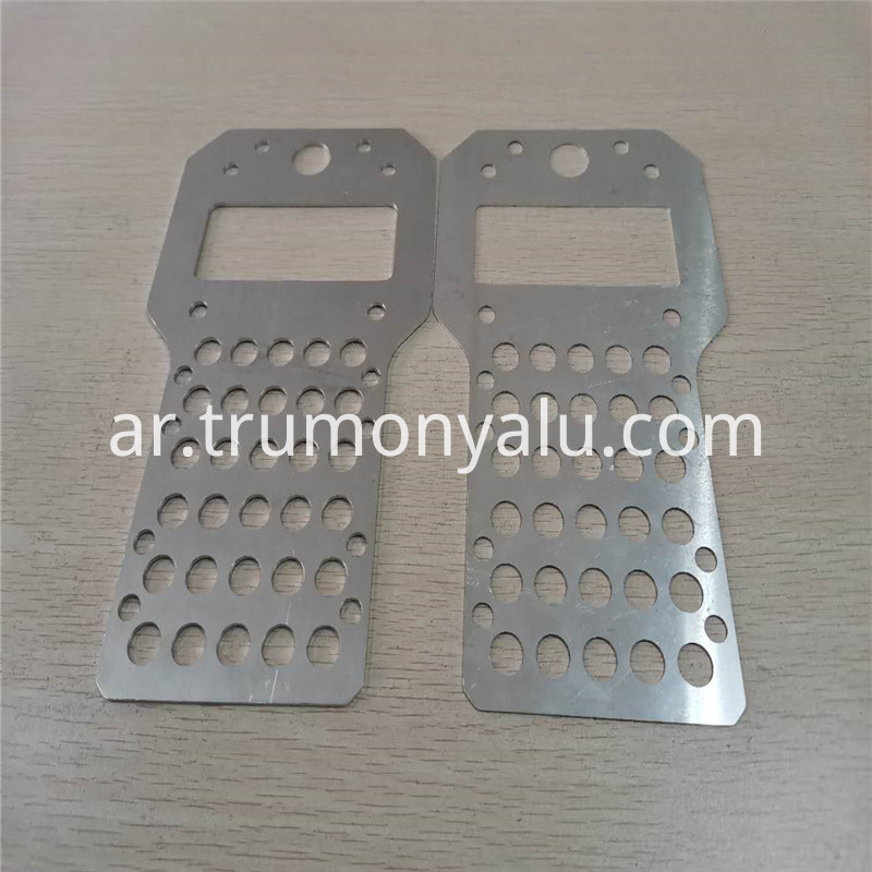 CNC Engraving and milling Aluminum sheet and spare part30