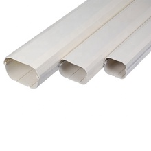 Plastic Duct Rectangular Ventilation PVC Square Pipe For Air System