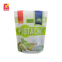 Customized Pistachio Nuts Packaging Bags Food Stand Up Pouch