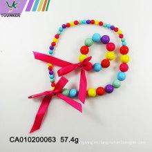 Venta caliente hermosos conjuntos de joyas para niños