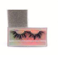 SL026F Hitomi wholesale false eyelashes mink eyelash wholesale price Fluffy real 25mm mink eyelashes