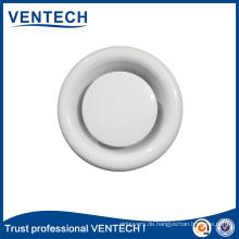 Metall und Kunststoff Luftventil Disc für HVAC-Decke-WC