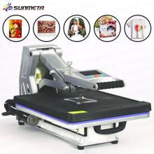 Máquina de impresión automática de la camiseta de la transferencia de calor