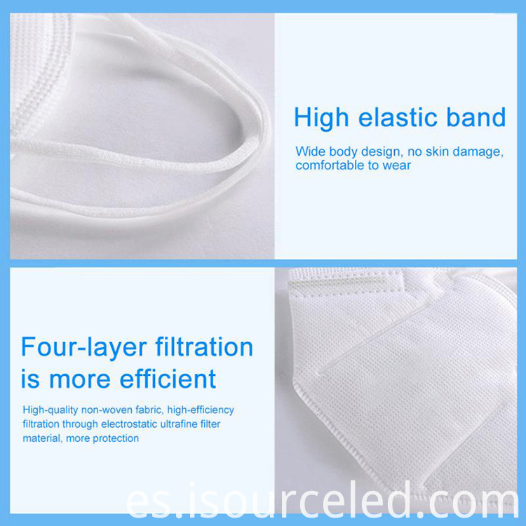 Top quality ffp2 mask breathable dustproof