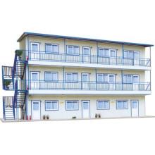 Стальной структуры prefab гостинку Жилой дом (сайт kxd-pH1381)