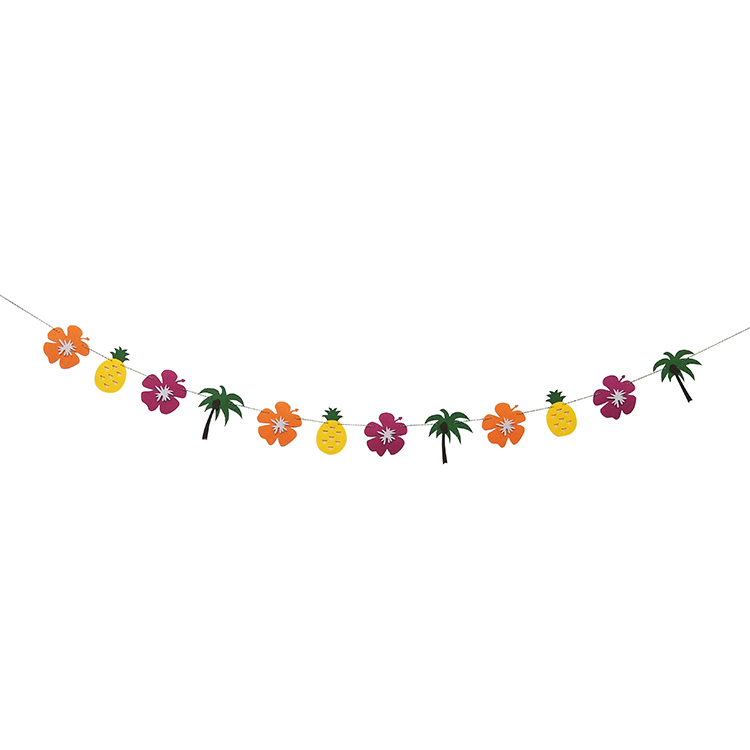 Hawaii Summer Party Banner