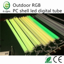 Tubo digital ao ar livre do RGB PC Shell
