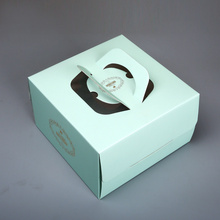 8inch Handle Cake Box with Clear Window