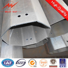 High Voltage Hot DIP Galvanized Pole Electric Pole for Transmission Pole