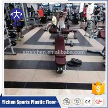 Yichen tapis de sol en caoutchouc non-toxique et insipide pour gym
