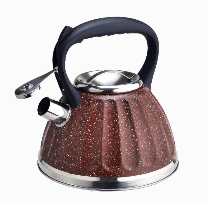 Induction Whistling Marble Tea Kettle 396