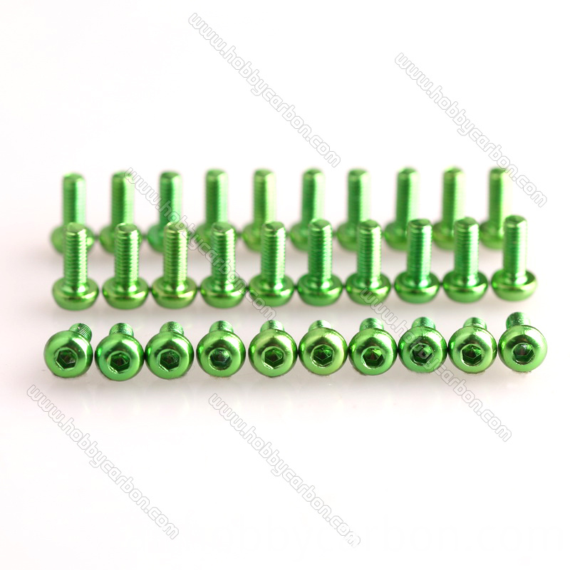 Aluminum Button Screws