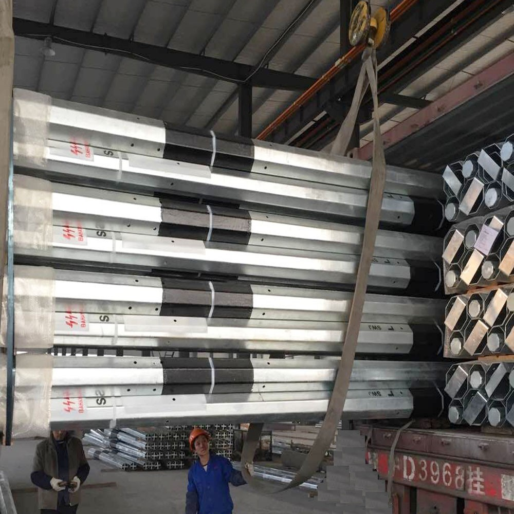 9M Galvanized Steel Pole