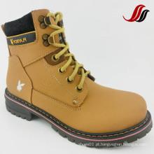 Homens de alta qualidade MID-Cut Causal couro botas de couro (MF716)