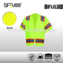 2015 новые продукты безопасности дорожного движения x задняя отражающая жилет безопасности желтый жилет безопасности ansi