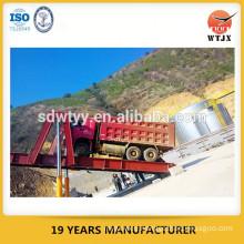 unloading platform hydraulic cylinder