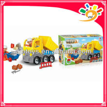 battery operated truck building blocks funny happy block set with music