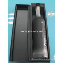 Hochwertiger Clamshell-Weinpapier mit Schulter und EVA-Schaum