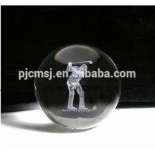 Bola de cristal mágica do natal