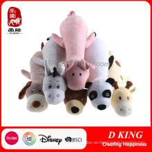 Nuevo diseño de peluche suave almohada animal felpa de juguete