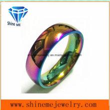 Shineme Schmuck Duzzle Farben Edelstahl Schmuck Ring (CZR2769)