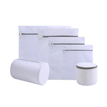 Custom Delicate Convenient Clean Mesh Pouch Washing Machine Laundry Mesh Bag Storage bag Laundry bag