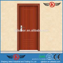 JK-P9025 поставщик фарфора деревянная композитная конструкция двери ПВХ пластиковая дверь / дверь кухни