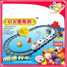 2014 HEISSE VERKAUFSPRODUKTE! 9688 HIGH SPEED TRAINS Zug Block Spielzeug Blöcke Spielzeug Zug