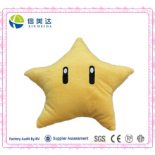 Sale Hot Super Mario Yellow Stars Cushion