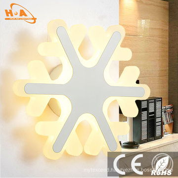 Factory Price Crystal Christmas Indoor LED Wall Light Lamp Lights